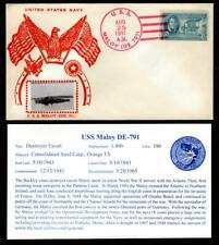 USS Maloy EDE-791 August 25 1951 Gmahle Photo Cachet