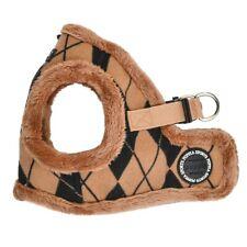 Dog Puppy Harness Vest - w. Smart Tag - Jaden - Beige - S, M, L