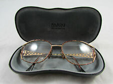6ca28b96e8c Vintage YSL YVES SAINT LAURENT Prescription Bifocal Gold Tone Eyeglasses