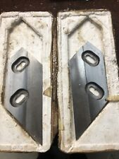 Genuine Morso Guillotine Blades. Suit Model B/BA And F. Good Condition.