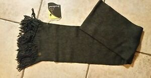 NWT New Unisex SMARTWOOL Longview Scarf 100% Merino Wool Charcoal Gray Heather