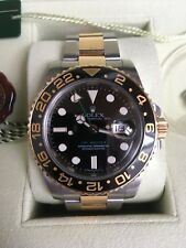 ROLEX GMT MASTER 116713LN ST/GG FULL SET LC 100