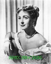 DANIELLE DARRIEUX 8x10 Lab Photo '40s Bejeweled Enchanting Period Gown Portrait