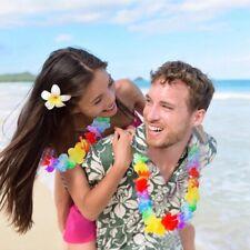 Hawaii-Ketten Hawaii Kette 3er Set Blumenkette Hawaiikette Sommer zubehör