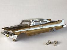 New Thunderjet 1958 Gold Fury Tjet HO Slot Car Body Fits Aurora & Dash Chassis