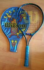 "Wilson Beginner Youth Rakattak Tennis Racquet Heat Cover  4""Grip As Is"