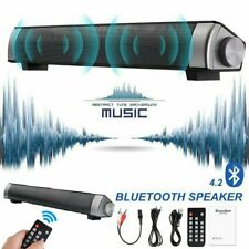 Portable Bluetooth Speaker Wireless Bass Speaker With Remote Control/Av Cable