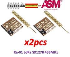 2pcs Ra-01 LoRa SX1278 433MHz Ra01 Wireless Spread Spectrum Transmission Module