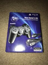New Sealed PS3 New Owner's Kit [Complete with Original Box & Packaging]
