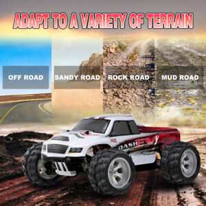 Wltoys A979-B 2.4G 4WD 1/18 70km/h High Spped Remote Control Big Foot RC Car