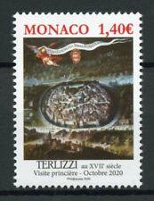 Monaco Architecture Stamps 2020 MNH Terlizzi Ancient Grimaldi Strongholds 1v Set