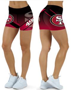 San Francisco 49ers Small to 2XL Women's Shorts