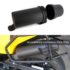 Universal Motorcycle Tool Box Side Capsule Case Storage Bag Accessories Black 1x