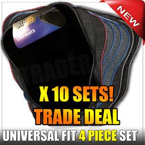 10 X Sets Carpet Car Floor Mats Trade Pack Universal Fitting Mat Set CHEAP