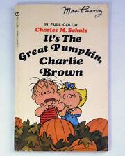 It's the Great Pumpkin Charlie Brown Charles Schulz 1968 Peanuts Linus Sally VTG