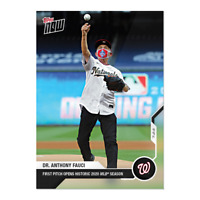 2020 Dr. Anthony Fauci - MLB TOPPS NOW® Card #2 First Pitch *AVAILABLE NOW*