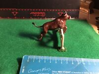 Vintage Britains Era Lead Farm. A Running/Jumping Bull & Fence. 1/32 Scale.