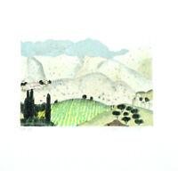 HERBERT BREITER - Farblithographie - HANDSIGNIERT, NUMMERIERT - 1990