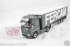"""NZG Art.8622/04 Mercedes Benz Actros FH25 """"Fercam"""" 1:50"""