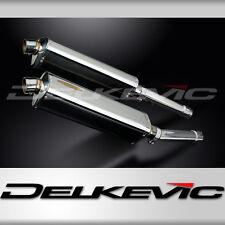 """Honda CB1100SF X11 Tri-Oval 17"""" Stainless Exhaust Muffler Slip On 99 00 01 02 03"""