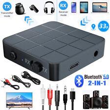 Bluetooth 5.0.Audio Transmitter Adapter Empfänger Musik Stereo Sender Receiver·