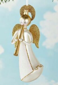 NWT DE CARLINI FLYING ANGEL CHRISTMAS ORNAMENT ITALY