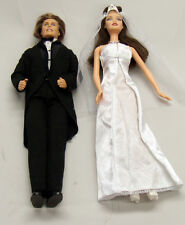 Barbie and Ken Wedding Dolls and Clothes by Mattel.  Excellent Condition.