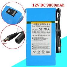 DC-1298A DC 12V 9800mAh Rechargeable Portable Li-ion Battery For CCTV Camera