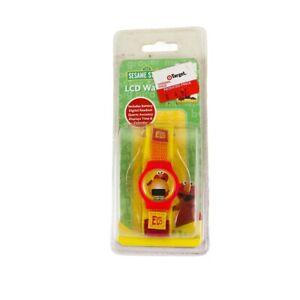 Vintage Sesame Street Elmo Toy Watch (SEALED)
