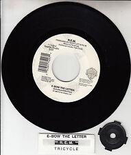 "R.E.M. (REM)  E-Bow The Letter 7"" 45 rpm record + juke box title strip NEW RARE!"
