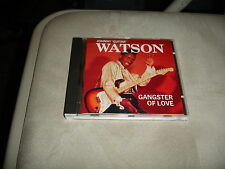 Johnny Guitar Watson Gangster Of Love CD Charly 267 UPC 082333132726