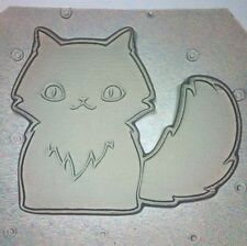 Flexible Mold Cute Kitty Cat Or Kitten Resin Or Chocolate Mould