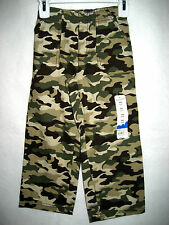 Boys Jumping Beans Camouflage Pants - Size Small (4) - NWT