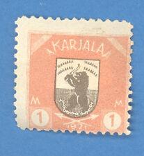 RUSSIA FINLAND 1 1921 REVENUE STAMP 2134