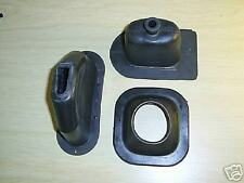 LAND ROVER SERIES 2 and 3 RUBBER GAITERS (SET of THREE)