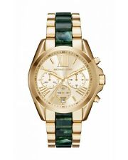 Michael Kors Women's Bradshaw Chronograph Gold Tone Steel 43mm Watch MK6397