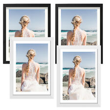 """Solid Wood Multi Photo Frame Picture Display Wall Decor 4x6"""" 8x10"""" 11x14"""" 12x16"""""""