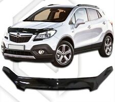 SCOUTT HOOD DEFLECTOR BONNET GUARD PROTECTOR for VAUXHALL MOKKA 2012–2016