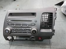 HONDA CIVIC RADIO/CD/DVD/SAT/TV RADIO/CD PLAYER, 8TH GEN, 02/06-12/11 06 07 08 0