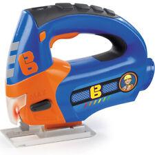 Bob der Baumeister Kinder Werkzeug Stichsäge Spielzeug Akku Säge mit Licht Blau
