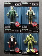 Universal Monsters Bendems Frankenstein Dracula Wolfman Creature Free Shipping