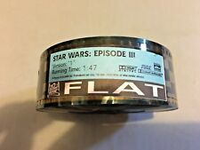 Used Flat Star Wars Episode III Revenge of the Sith 35MM Film Trailer