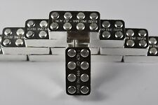 "1 oz .999 Fine Silver Building Block Bar ""Lego"" - Stackable Unique Gift"