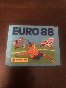 Panini Euro 1988 Sealed Unopened Sticker Packet