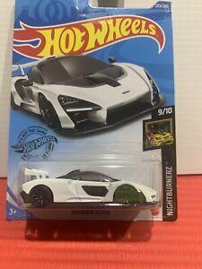 Hot Wheels Mclaren Senna White New