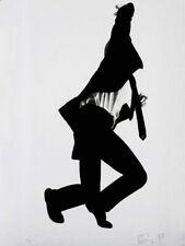 V8936 Robert Longo Frank Men In The Cities Artwork BW Art WALL PRINT POSTER