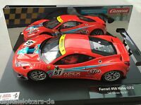 "CARRERA DIGITAL 124 23804 Ferrari 458 Italia GT3 ""AF Corse No. 51"" LICHT NEU"