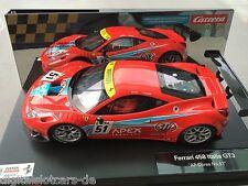 Ferrari 458 Italia GT 3 High Gripp Reifen für Carrera 124 Digital
