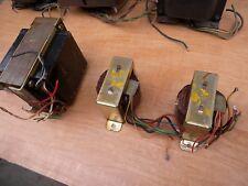 set of 3 vintages Grundig single ended el84/6bq5 w/tested good. Germany.