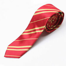 New Harry Potter Gryffindor House Cosplay Costume Necktie Silk Tie